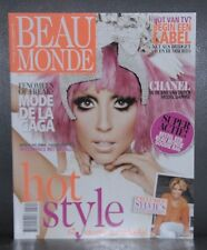 Beau Monde Magazine 15 February - 6 March 2012 Nederland, Lady Gaga NEW
