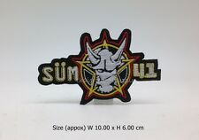 SUM 41 Embroidered Patch Iron On Applique Pop punk alternative rock band music