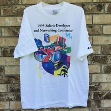 Solaris Developer Networking Conference 1995 Mens Shirt SunSoft Microsystems XL