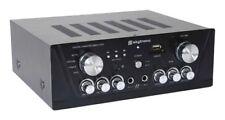 Amplificador de karaoke Skytronic 103.131 Fm/usb/sd plata