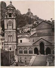 Photo Giogio Sommer Albuminé Italie Amalfi Italia Vers 1880