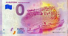 BILLET 0  EURO ALBUFEIRA PESCADORES PORTUGAL  2020  NUMERO DIVERS