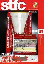 Teams A-B Brentford Football Programmes with Match Ticket