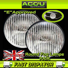 Ring RL021 12v Car 4x4 Van Round Fog Halogen Spot Lamps Lights - Pair