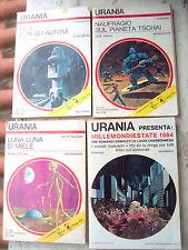 1969 LOTTO DI TRE URANIA + MILLEMONDIESTATE 1984. VANCE, CLARKE, WHITE, BROWN...
