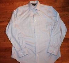 BANANA REPUBLIC Blue/White Plaid Shirt - Men's L - Long Sleeve Casual
