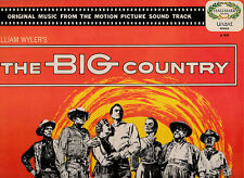 The Big Country-1958- Soundtrack-UK Hall-12 Track-Record LP