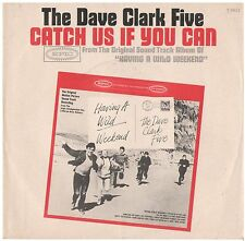 DAVE CLARK FIVE--PICTURE SLEEVE ONLY--(CATCH US IF U CAN)--PS--PIC--SLV