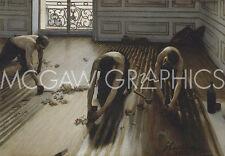 """CAILLEBOTTE GUSTAVE - THE FLOOR SCRAPERS (RABOTEURS DE PARQUET), 1875-ART11""""X14"""""""