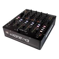 Allen & Heath Xone:43 | 4-Kanal DJ-Mischpult | DJ-Mixer mit Effekten | Clubmixer