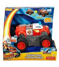 Blaze Autopompa trasformabile con Luci e Suoni Dry93 Mattel