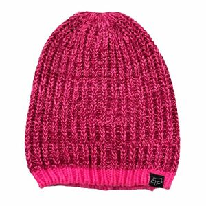 Fox Racing Womens Slouchy Process Beanie Pink Size One Size Fits All NEW