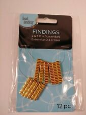 Spacer Bar Gold Pewter 2 And 3 Hole Findings Jewelry Design