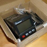 Kubler 11-30VDC 6-Digit Panel-Mount LCD Preset Counter 6.904.010.310