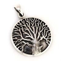 Keltischer Lebensbaum Anhänger 925er Silber Gothic Schmuck - NEU
