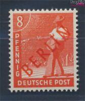 Berlin (West) 23 geprüft postfrisch 1949 Rotaufdruck (8717011
