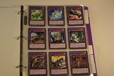 Yugioh Legendary Knights 2 Binder Deck Collection Lot 49 Cards Red-Eyes