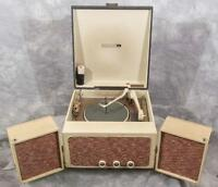 Vintage RCA VP-38A Suitcase Style Portable Turntable & Speakers g25