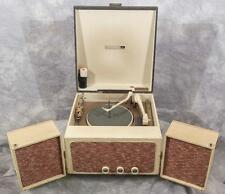 Vintage RCA VP-38A Suitcase Style Portable Turntable & Speakers egm