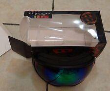 USED W SCRATCHES MORROW miramax spherical green revelation mirror Ski Goggles
