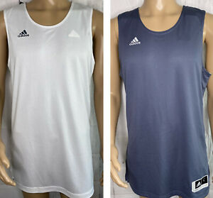 Adidas Jersey Shirt Basketball Crazy Explosive Top Reversible Team Men L XL NWT