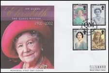 GB 2002 QUEEN MOTHER MEMORIAL COVER (ID:281/D42532)