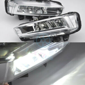For Land Rover Discovery Sport L550 2014-18 A Pair LED Daytime Day Fog Light DRL