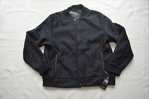 NEW $250 UNDER ARMOUR COLDGEAR ARMD VARSITY WINTER JACKET SNAP UP INSULATED COAT