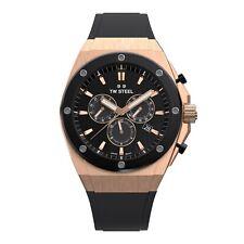 TW Steel TWCE4048 Ceo Tech Black Dial Chronograph Wristwatch
