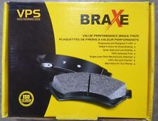 BRAND NEW BRAXE FRONT BRAKE PADS XMD845 / D845 FITS VEHICLES ON CHART