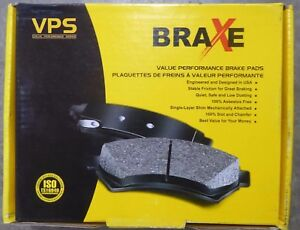 BRAND NEW BRAXE FRONT BRAKE PADS XMD522 / D522 FITS VEHICLES ON CHART