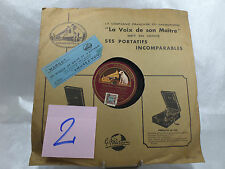 VINYLE 78T GRAMOPHONE-CHANSON FRANCAISE-FERMONS NOS RIDEAUX