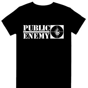 Public Enemy - Crosshairs Logo Official Licensed T-Shirt