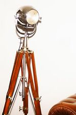 VINTAGE THEATRE SPOT LIGHT ANTIQUE STUDIO FILM FLOOR LAMP EAMES STRAND 23 123