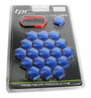 Astra VXR 17mm Blue TPI Hex Alloy Wheel Nut Bolt Covers