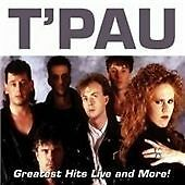 TPAU / T'PAU Greatest Hits Live And More CD  NEW & SEALED  16 Tracks