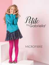 Nylonandmore Gabriella Medias de los Niños Chica Niñas 740 Microfibra Medias