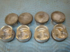 FORD NASCAR YATES 4.064 REVERSE DOME .927 1.265 CH CP PISTONS 1 RACE OLD W/RINGS