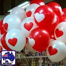 "20PCS Wedding Balloon Birthday Party 12"" Heart Shape Print Balloons GBALL16"