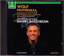 Barenboim Signed Hugo Wolf Penthesilea Corregidor Italian Serenade Scherzo Final