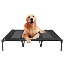Elevated Dog Cot Bed Raised Cooling Sleep Pet Lounger Indoor Outdoor 15.5kg-50kg