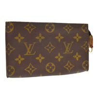 LOUIS VUITTON BUCKET PM ATTACHED POUCH PURSE MONOGRAM CANVAS A53937