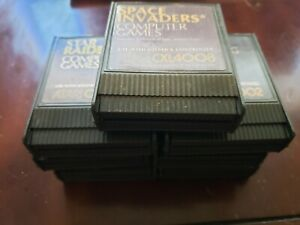 Atari 400 / 800 Game Lot Clean Tested Label Variations Pick Your Favs Combo S&H