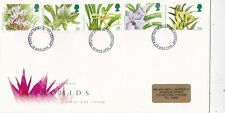 GB 1993 Orchids FDC Folkestone CDS with enclosure VGC