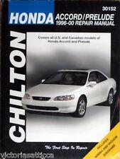 CHILTON HONDA Accord/Prelude 1996-2000 REPAIR MANUAL - BOOK