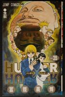 JAPAN Yoshihiro Togashi manga LOT: Hunter x Hunter vol.1~35 Set