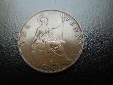 K179 UK 1900  PENNY   HIGH GRADE