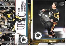 17-18 Upper Deck Series 1 & 2 Pittsburgh Penguins 13 Card Team Set Malkin Crosby