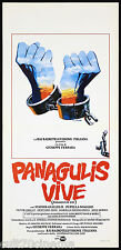 PANAGULIS VIVE LOCANDINA CINEMA GIUSEPPE FERRARA PANAGULIS ZEI PLAYBILL POSTER
