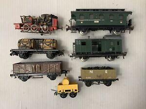 C084- Mixed Lot Of Fleischmann, Marklin Train Cars